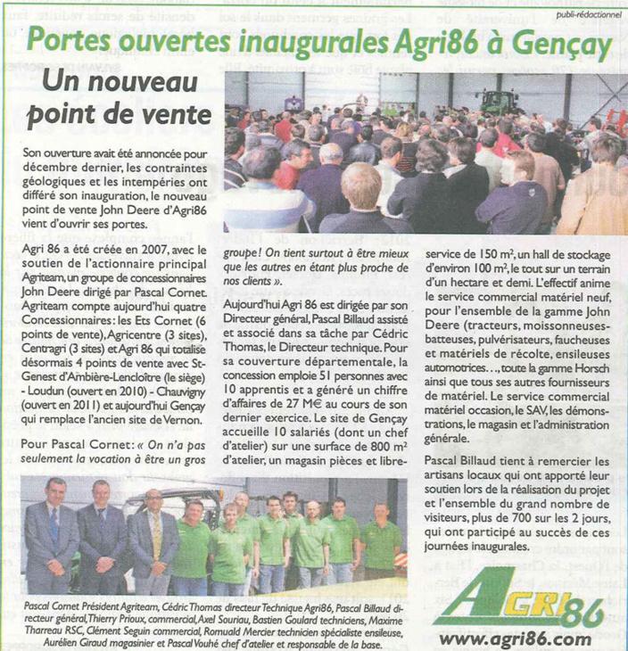Inauguration de GENCAY
