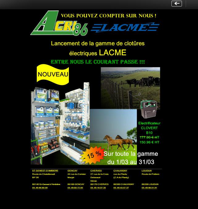 Profitez de notre promotion sur les produits Lacmé
